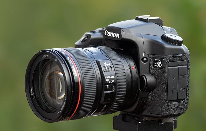 Canon 40D DSLR