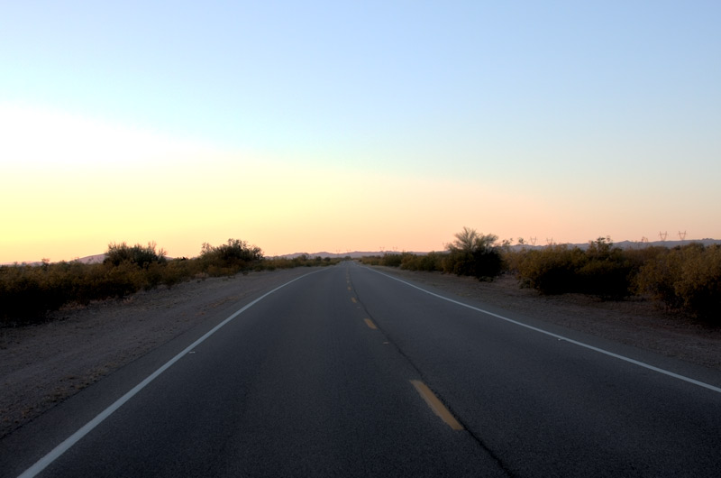 Road West of Phoenix